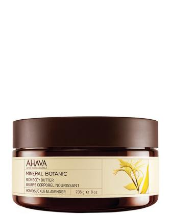 Ahava Масло для тела Жимолость/Лаванда Mineral Botanic Honeysuckle & Lavender Rich Body Butter, фото 1, цена