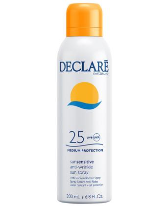 Declare Sun Sensitive Anti-Wrinkle Sun Spray SPF25 Солнцезащитный Спрей от морщин, для загара, фото 1, цена