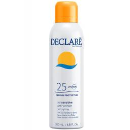 Фото - Declare Sun Sensitive Anti-Wrinkle Sun Spray SPF25 Солнцезащитный Спрей от морщин, для загара, фото 1, цена