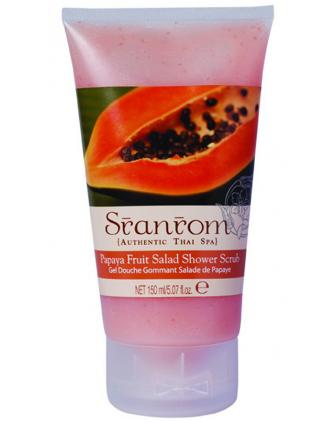 Скраб для тела для душа Папайя для всех типов кожи Papaya Fruit Salad Body Scrub, фото 1, цена