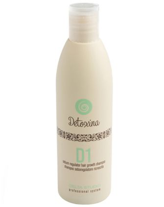 Шампунь от жирной кожи головы Delta Studio Detoxina D1 Sebum Regulator Hair Growth Shampoo против выпадения , фото 1, цена