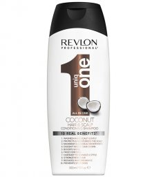 Фото - Шампунь-Кондицонер Revlon Professional Uniq One All in One Coconut Conditioning Shampoo, с Кокосом, фото 1, цена