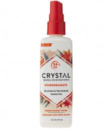 Фото - Минеральный Дезодорант Кристалл-Спрей Гранат Crystal Mineral Deodorant Spray - Pomegranate , фото 1, цена